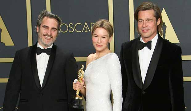 Oscars Joaquin Phoenix, Brad Pitt, Renée Zellweger