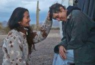 Chloe Zhao directs Frances McDormand in Nomadland