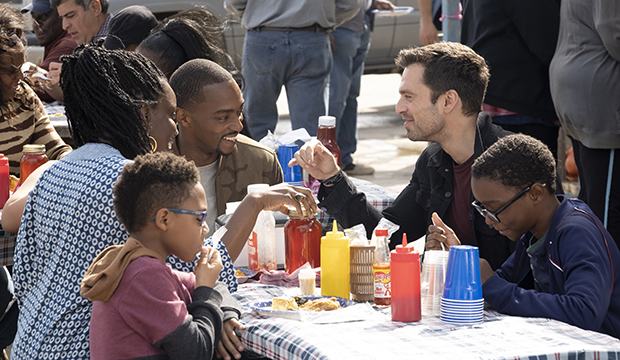 Anthony Mackie and Sebastian Stan, The Falcon and The Winter Soldier