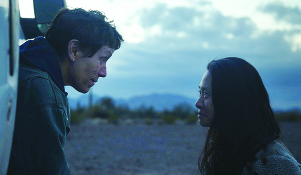 Frances McDormand and Chloe Zhao, Nomadland