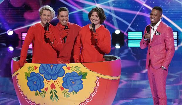 Hanson Russian Dolls the masked singer reveals