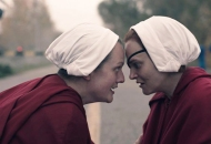 Elisabeth Moss and Madeline Brewer, The Handmaid's Tale
