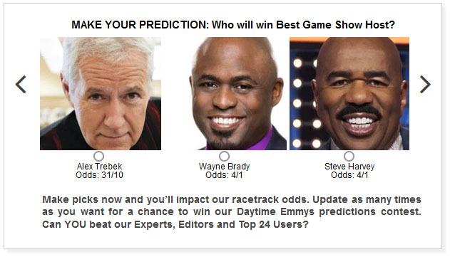 daytime emmys game show host predictions widget