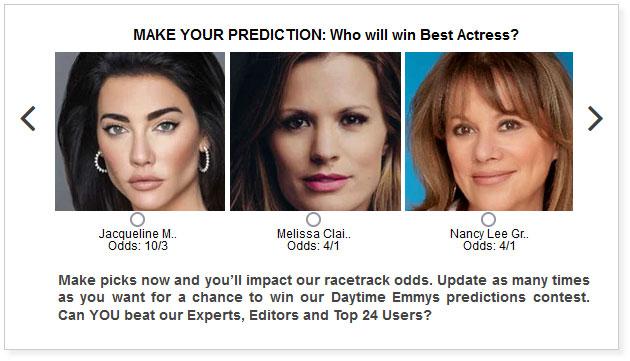 daytime emmys best actress predictions widget