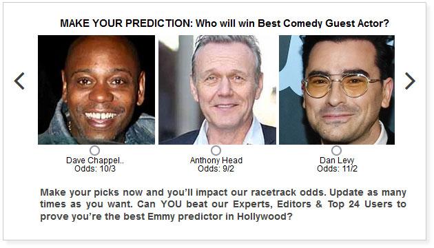 emmys best comedy guest actor predictions widget