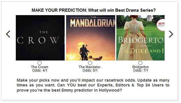emmys best drama series predictions widget