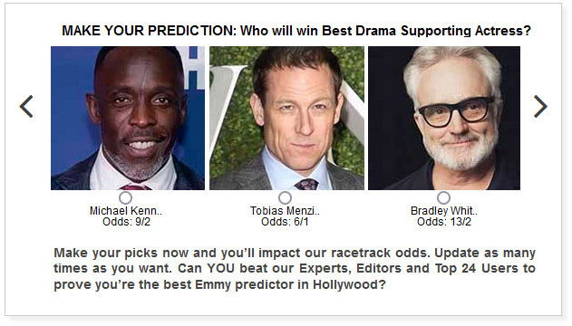 emmys best drama supporting actor predictions widget