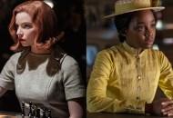 Anya Taylor-Joy, The Queen's Gambit; Thuso Mbedu, The Underground Railroad