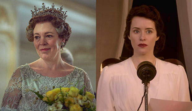 Olivia Colman; Claire Foy, The Crown