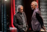 Michael Douglas and Morgan Freeman, The Kominsky Method