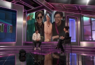 Derek Xiao and Julie Chen Moonves, Big Brother 23