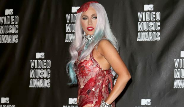 Lady Gaga fashion: Meat gown, Oscar seems to be and far more [PHOTOS]