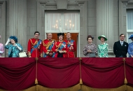 Penny Downie, Marion Bailey, Josh O'Connor, Charles Dance, Olivia Colman, Tobias Menzies, Helena Bonham Carter and Erin Doherty, The Crown