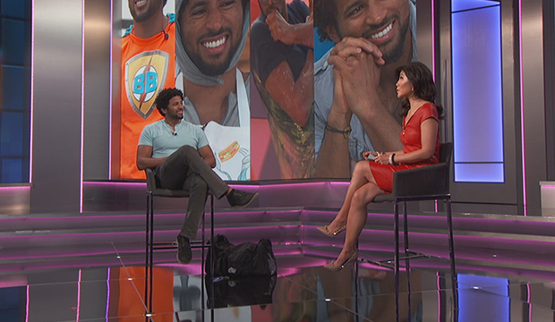 Kyland Young and Julie Chen Moonves, Big Brother 23