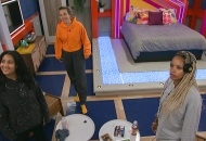 Hannah Chaddha, Claire Rehfuss and Tiffany Mitchell, Big Brother 23