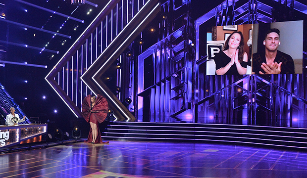 Bruno Tonioli, Tyra Banks, Cheryl Burke and Cody Rigsby, Dancing with the Stars