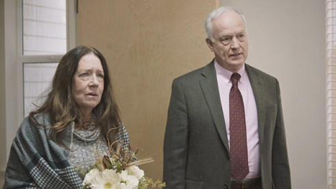 Ann Dowd and Reed Birney, Mass