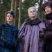 Phoebe Fox, Elle Fanning and Belinda Bromilow, The Great